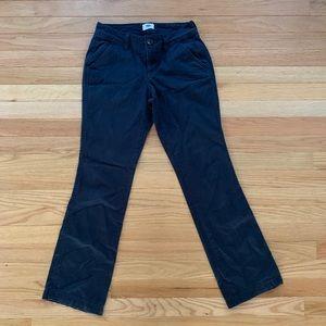 Navy, Chino, Petite Pants, Size 0